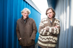 Bill Plaskett (left), joined his son, Joel, to make the album Solidarity. They are performing together at the West End Cultural Centre, tomorrow at 8 p.m.