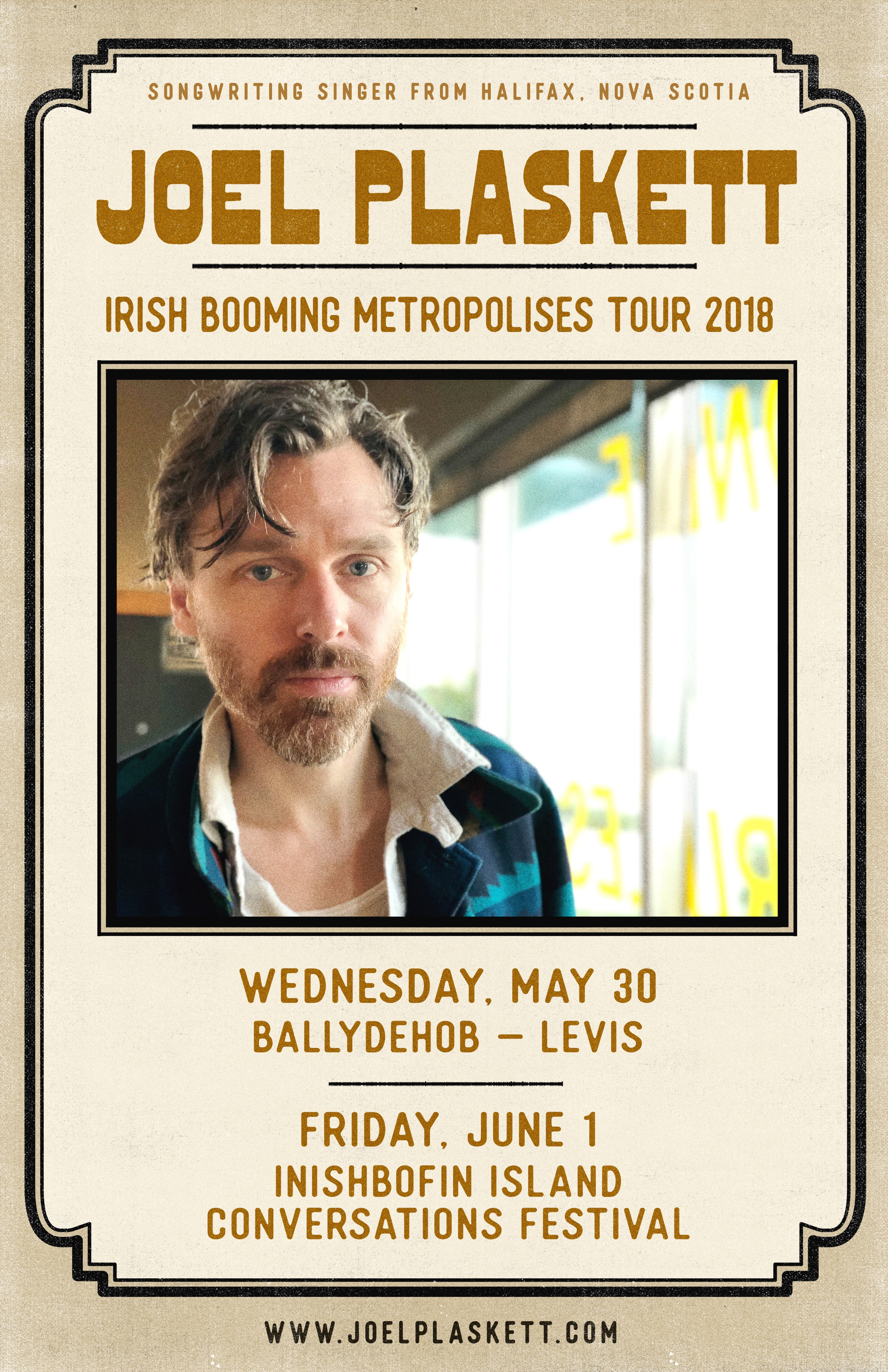 Joel plaskett ireland ballydehob may 30th inishbofin june 1st if you do happen to find yourself in county cork or on inishbofin island pop in for a tullamore dew andor a song solutioingenieria Choice Image